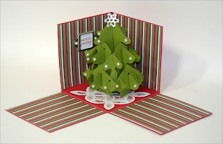 christmas crafts: pop up cards