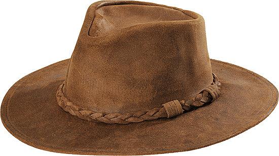 f6ba50c1efc Minnetonka Outback Leather Hat Inspire Me t Leather