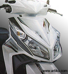 Honda will become the first in the products motorcycles matic with