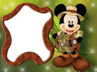 mickey mouse frame - Mickey Mouse Photo Frame