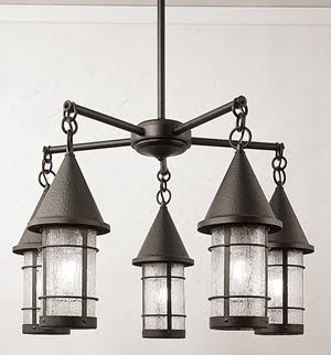 Arroyo Craftsman Valencia 5 Light Chandelier