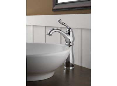 Delta 579-WF Leland Single Handle Bathroom Sink Faucet