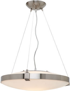 Access 50102 Luna Cable Pendant Brushed Steel