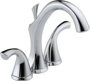Delta 4592 Addison Two Handle Mini-Widespread Lavatory Faucet
