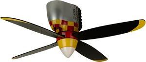 Craftmade WB448GG Glamorous Glen Warplane Ceiling Fan