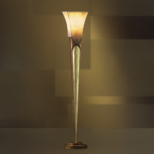 Kichler 76001 Coconut Grove Torchiere Lamp Safari