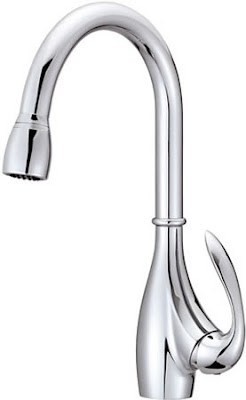Danze D454746 Bellefleur Kitchen Faucet With Pull Down Spray