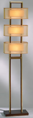Nova 2347 Amarillo Floor Lamp
