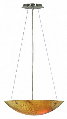 Kenroy Home 90070BS-PRL Monza 16 Inch Pendant Light