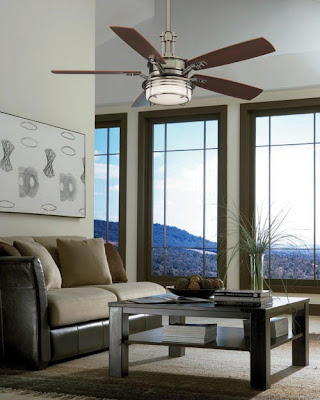Fanimation FP5220PW Andover 5 Blade Ceiling Fan Pewter