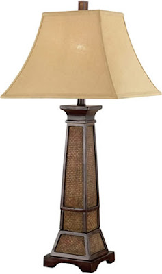 Kenroy Home 20530WTR 1 Light Ellis Table Lamp