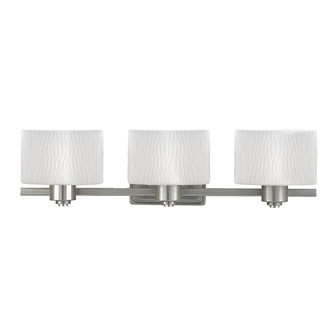 Quoizel PF8603ES Pacifica 3 Light Bath & Vanity Fixture Empire Silver