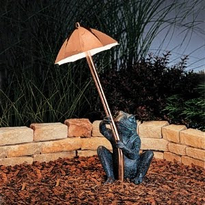 Kichler 15307CO Path & Spread 1 Light Landscape 12 Volt Copper