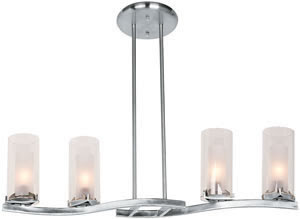 Access 50506-BS-FRC Proteus 4 Light Pendant Brushed Steel