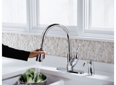 Delta 989-DST Allora Single Handle Pull-Down Kitchen Faucet