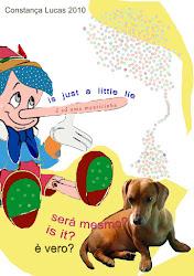 Pinóquio - arte postal