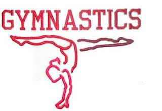Gymnastics Split Handstand