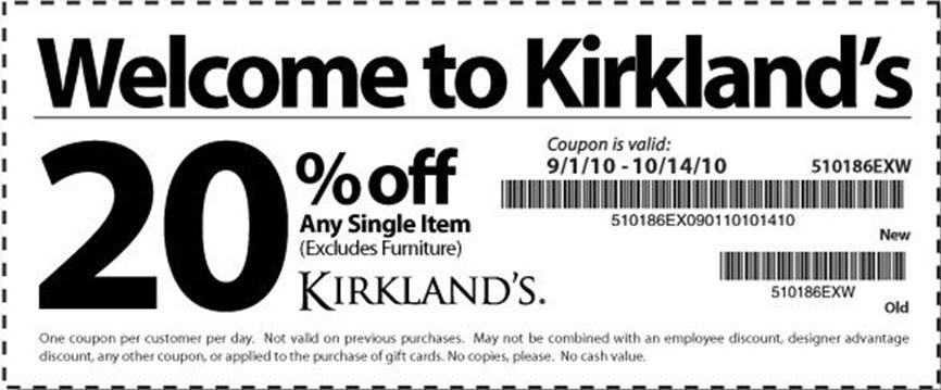 Kirklands printable coupons oct 2018