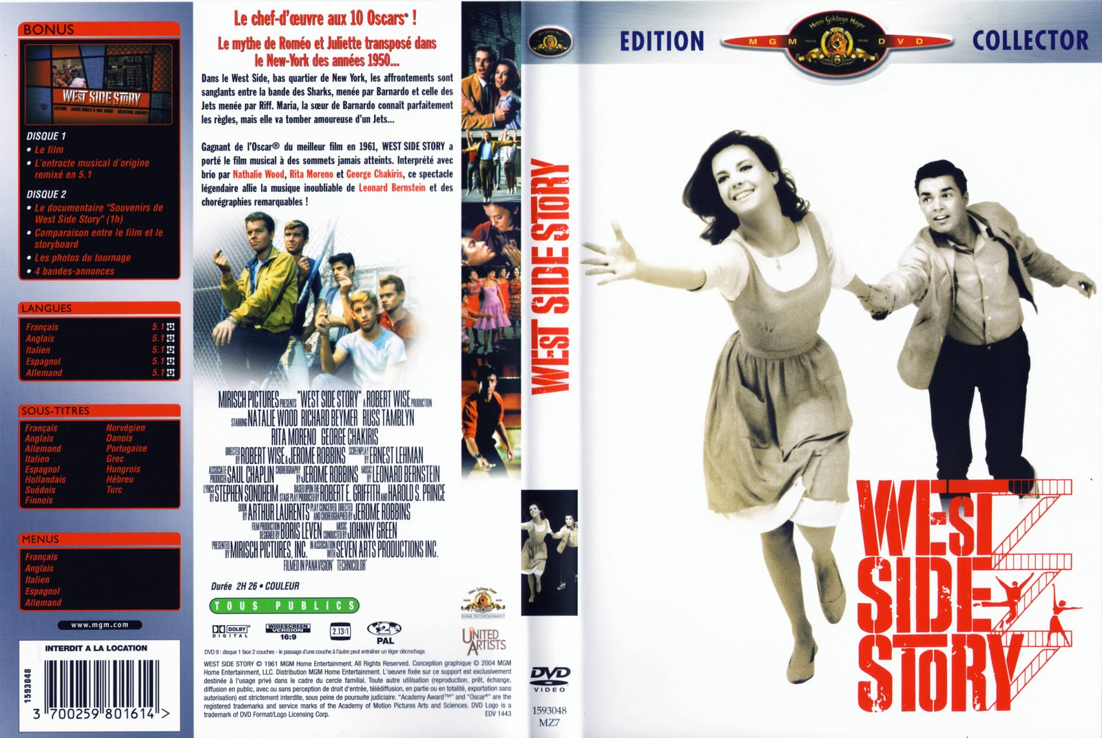 irony in west side story West side story (1961) movie review reviews | 6 comments oh, the irony of that, especially since west side story is about warring street gangs, after all.