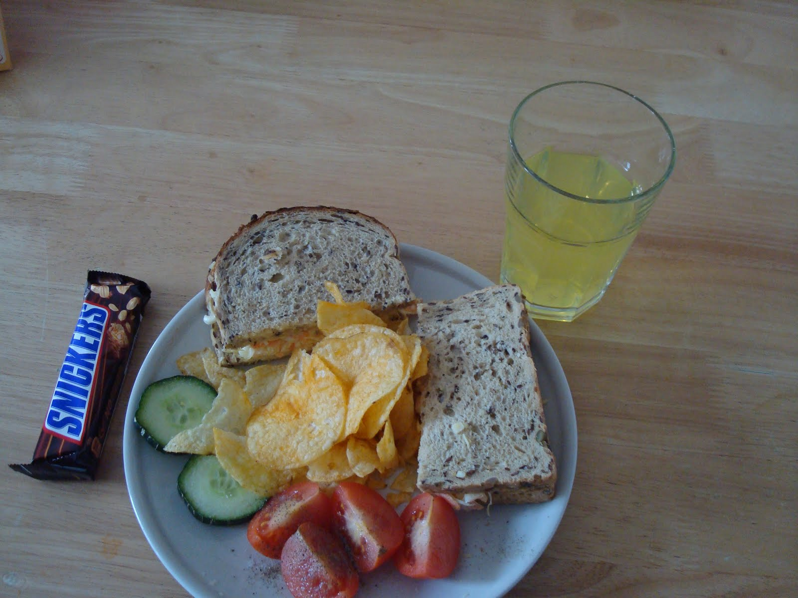 Bacon Sandwich, Chees and Homemade coleslaw Sandwich