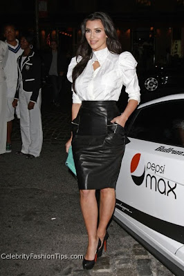 Leather Pencil Skirt Fashion Trend, Women Fashion Trend, Pencil Skirt Fashion Trend