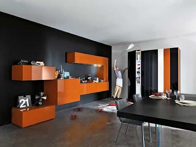 Futuristic Furniture on Modern Kitchen Design  Futuristic 36e8 Italian Kitchen