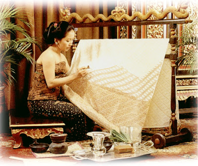 Hand Drawn Batik, Traditional Batik Production