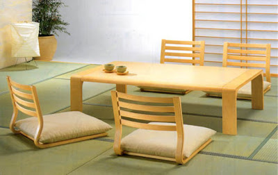 Dining Room, Japanese Dining Room, Traditional Japanese Dining Room