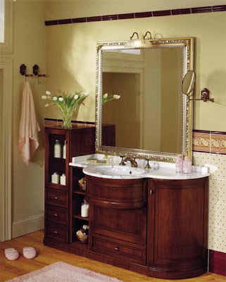 Popular Bathroom Antique Furniture Design- everyone will be interested