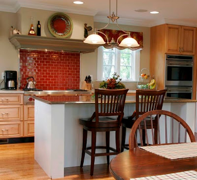 Modern Kitchen Island Idea, Kitchen Island