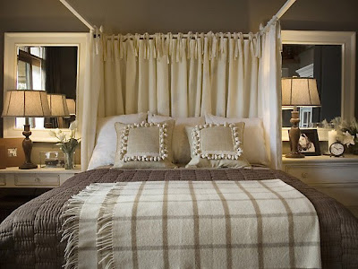 Modern Bedroom Decoration With Lighting