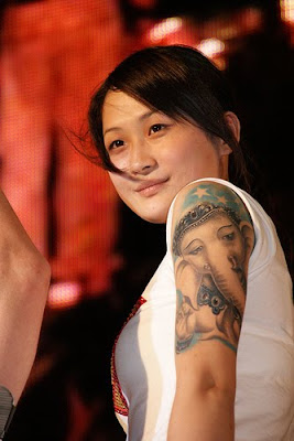 Celebrity sleeve tattoos