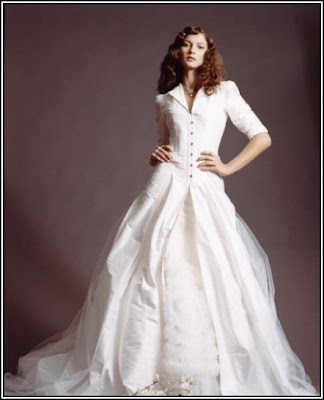 Wedding dress winter