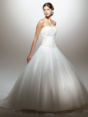 New bridal gown by Mori Lee