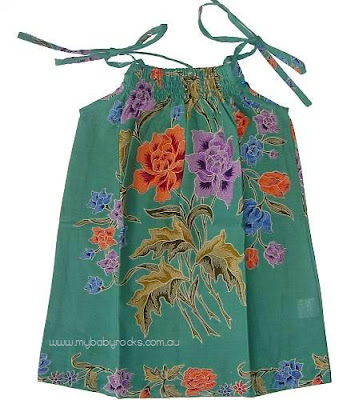 Cute Kids Batik Dresses