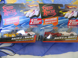 Hot Wheels Speed Racer Racer X Mach 4 5 6