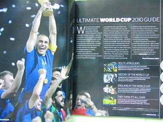 Football Magazine Ultimate World Cup Soccer 2010 South Africa FIFA EPL FA