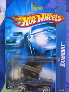 Hot Wheels Batman card Slideout Variation