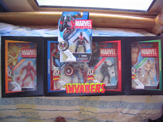 Marvel Universe San Diego Comic Con 70th anniversary SDCC The Invaders Prince Namor Submariner Red Skull Captain America Human Torch Union Skull