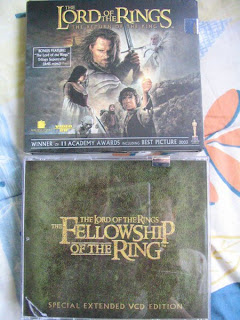 Fellowship J. R. Tolkein Lord of the Rings Movie Return of the King VCD Extended version Fordo Gandalf Peter Jackson Hobbit Two Towers Middle-Earth Sam Mount Doom Aragorn Lord Sauron