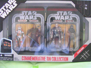 Star Wars Commemorative Tin Collection Episode II Attack of the Clones Mace Windu Sora Bulq Oppo Rancisis Zam Wesell III Revenge of the Sith Commander Cody Anakin Skywalker General Greivous Clone Pilot