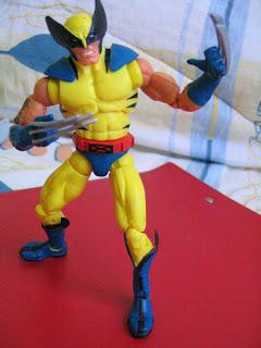 Marvel Legends BAF Avengers Incredible Hulk Wendigo Wolverine X-men