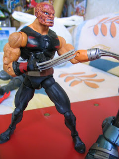 Marvel Legends Apocalypse BAF Blue Variant RARE 15 inch Age of X-men Wolverine Logan X-23 Sabertooth