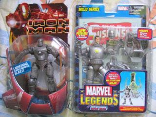 Marvel Legends Mojo Series First Appearance Movie Mark 01 Avenger Iron Man