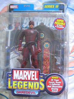 Marvel Legends Daredevil Bullseye Series 3 III Movie Ben Afflick