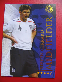 Futera Topps Attax Soccer Football World Cup FIFA South Africa Cards Cristiano Ronaldo Madam Tussaud David Beckham Steven Gerrard