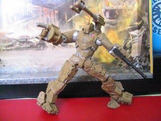 Marvel Iron Man Tony Stark Mark VI armor Ground Assault Drone Nick Fury SHIELD Samuel Jackson Robert Downing Jr Avengers Initiative