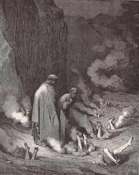 Dore, Dante's Inferno, Third Tier, Lawyers