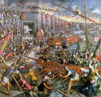 The Fall of Constantinople (29 May 1453)