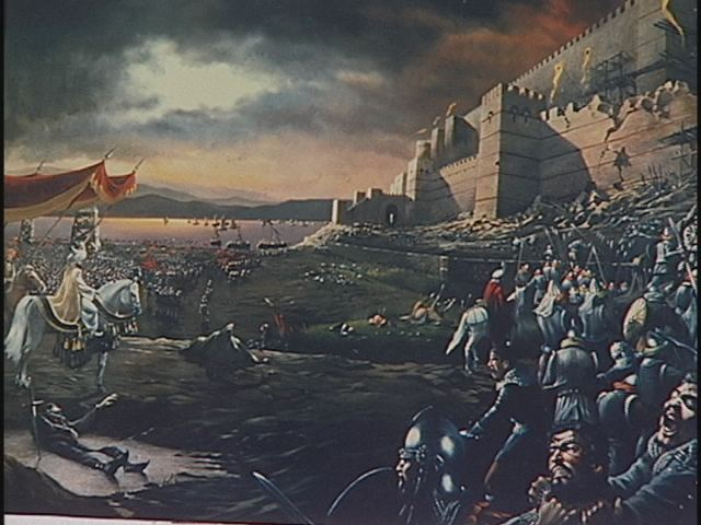 Mehmed II Outside The Walls of Constantinople, May 1453
